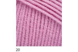 Jeans 20 - svetlá ružová