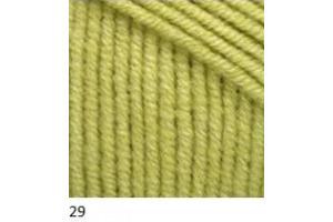 Jeans 29 - svetlo-olivová