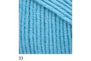 Jeans 33 - nebeská modrá