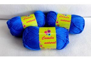Camila natural 100 - kráľovská modrá