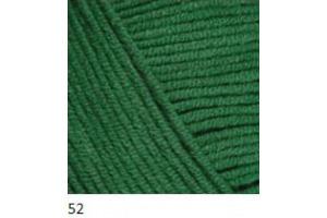 Jeans 52 - tmavá zelená
