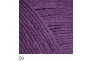 Jeans 50 - tmavofialová