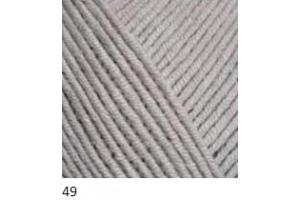 Jeans 49 - svetlo-sivá