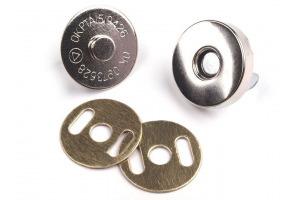 Magnetické zapínanie  Ø18 nikel