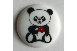 Gombík detský - Panda - 18 mm