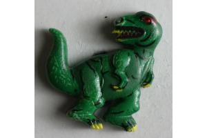 Gombík detský - Dinosaurus - 20 mm