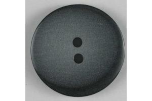 Gombík plastový - Jednoduchý s okrajom - 18mm - šedá