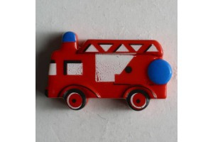 Gombík detský - Hasičské auto - 23 mm