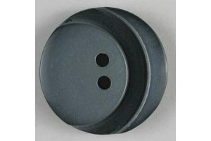 Gombík plastový - S dekorom - Ø 23 mm - šedá