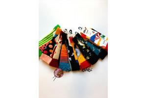 Ponožky Crazy - Bavlnené - 39/42