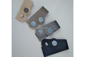 Zapínanie kožené s magnetom - na prišívanie