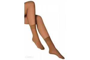 Ponožky Sindy 15 DEN- 2 páry - so zdravotným lemom